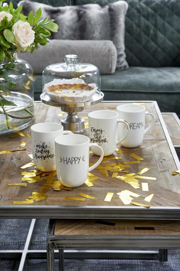Interieur Ideeen Riviera Maison.Shop Tips Riviera Maison 70 Years Of Happiness Enjoy Mug